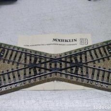 Trenes Escala: MARKLIN H0 VIA DE CRUZAMIENTO, REFERENCIA 5114.. Lote 156752242
