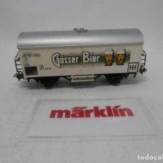 Trenes Escala: VAGÓN CERRADO ESCALA HO DE MARKLIN . Lote 157033282