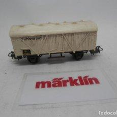 Trenes Escala: VAGÓN CERRADO ESCALA HO DE MARKLIN . Lote 157036194
