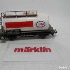 Trenes Escala: VAGÓN CISTERNA ESSO ESCALA HO DE MARKLIN . Lote 157037334
