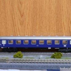 Trenes Escala: MARKLIN H0 COCHE DE VIAJEROS 1ª CLASE, DE LA DB, REFERENCIA 4027 *TODO METALICO*. Lote 157111466