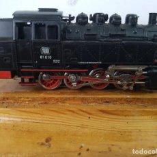 Trenes Escala: MARKLIN H0 - LOCOMOTORA DE VAPOR 3032 - DB BR 81010 - DIGITAL - CON LUZ Y VIDIO. Lote 157786462
