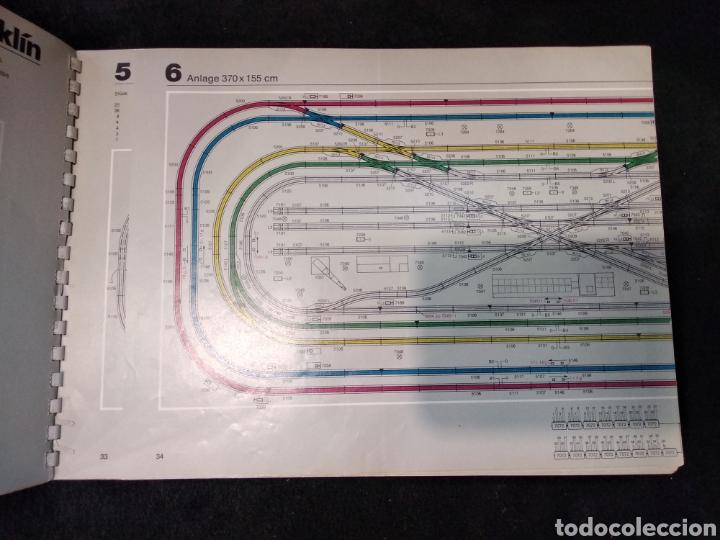 Trenes Escala: Catálogo trenes Marklin H0 Gleis Anlagen 0390 en alemán años 70 - Foto 2 - 159428788