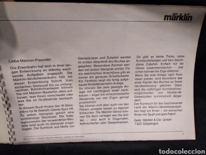 Trenes Escala: Catálogo trenes Marklin H0 Gleis Anlagen 0390 en alemán años 70 - Foto 5 - 159428788