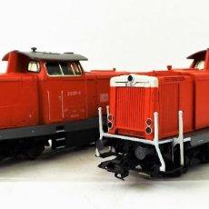 Trenes Escala: MARKLIN 37726 LOCOMOTORAS DIGITALES BR 213 Y BR 212. Lote 160170170