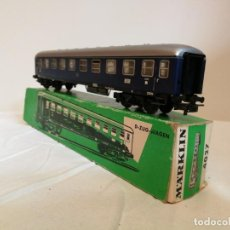 Trenes Escala: VAGÓN PASAJEROS MÄRKLIN 4027 . Lote 160675930