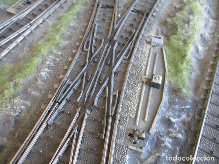 Trenes Escala: Maqueta Artesanal - Marklin H0 - Via Tipo C - 12 Desvíos, 2 Semáforos, 2 Estaciones, 1 Apeadero, etc - Foto 35 - 165636178