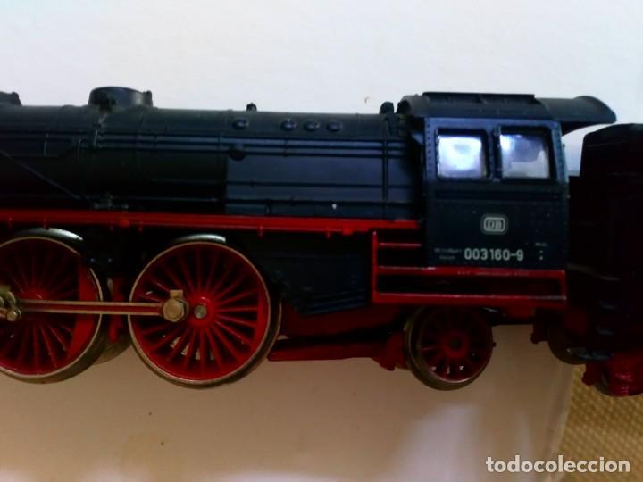 Trenes Escala: Locomotora Marklin 3160 analógica corriente continua H0 made in Germany - Foto 2 - 165831230