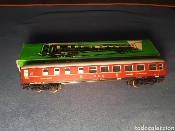 VAGÓN MARKLIN HO 4024 DE METAL ( CAJA 2) (Juguetes - Trenes a Escala - Marklin H0)