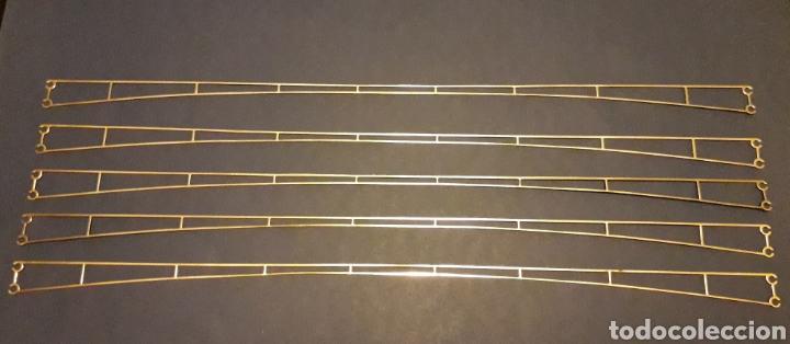 5 X TRAMO CATENARIA METÁLICA 36 CMS REF. 7019, MÄRKLIN H0 1/87 MADE IN GERMANY, AÑOS 60. (Juguetes - Trenes a Escala - Marklin H0)
