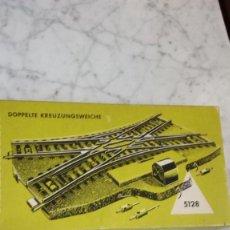 Trenes Escala: MARKILN 5128 /CRUCE TRANSVERSAL CAJA VERDE. Lote 169384476