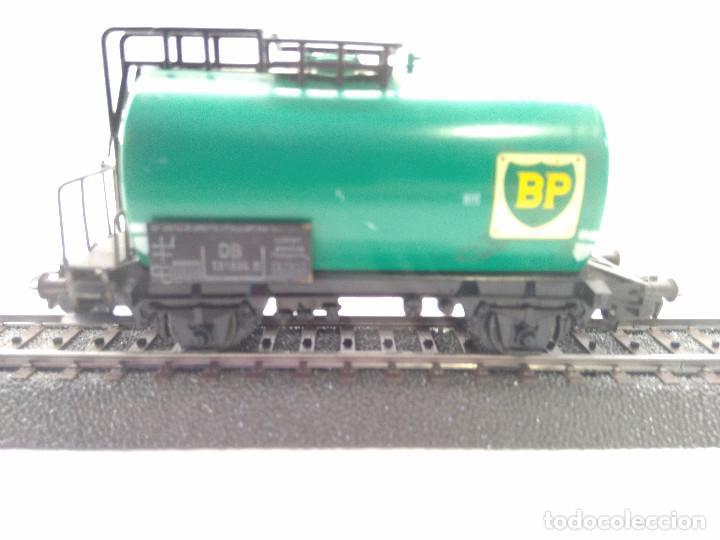 MARKLIN HO VAGON CISTERNA BP (Juguetes - Trenes a Escala - Marklin H0)