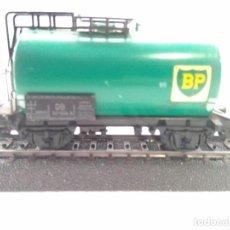 Trenes Escala: MARKLIN HO VAGON CISTERNA BP. Lote 170443228