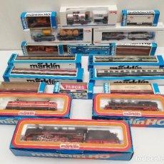 Trenes Escala: GRAN LOTE MARKLIN. Lote 171135519