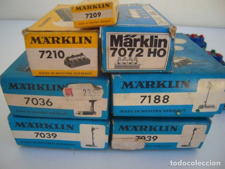 Trenes Escala: lote accesorios marklin varias ref - Foto 5 - 171624020