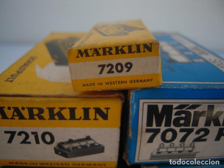 Trenes Escala: lote accesorios marklin varias ref - Foto 6 - 171624020