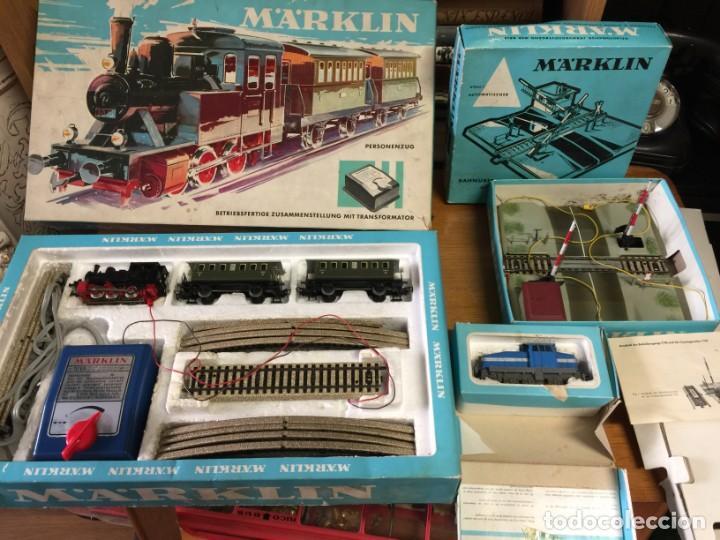 LOTE MARKLIN (Juguetes - Trenes a Escala - Marklin H0)