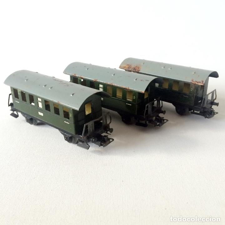 3 VAGONES MARKLIN (Juguetes - Trenes a Escala - Marklin H0)