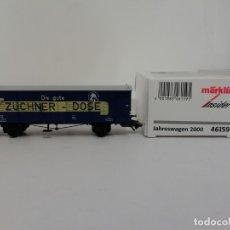 Trenes Escala: MARKLIN H0 46159 INSIDER AÑO 2000 VAGÓN CONTAINER NUEVO OVP. Lote 175020572
