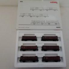 Trenes Escala: MARKLIN H0 46021 MHI 6 VAGONES NUEVO OVP. Lote 175022719