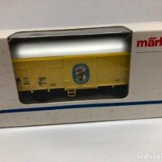 Trenes Escala: VAGON BANANAS ECUADOR SIN USO CON CAJA FABRICADA POR MARKLIN ESCALA HO REFERENCIA 4414. Lote 175045632