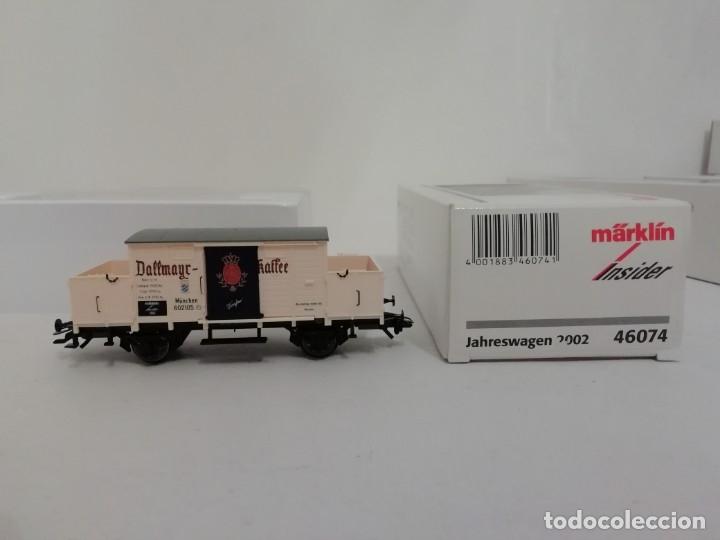 MARKLIN H0 46074 INSIDER VAGÓN DALLMAYR KAFFEE AÑO 2002 NUEVO OVP (Juguetes - Trenes a Escala - Marklin H0)