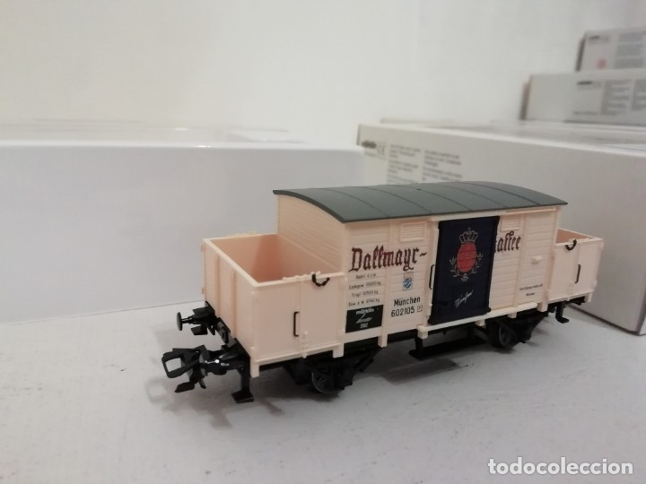 Trenes Escala: Marklin H0 46074 INSIDER Vagón Dallmayr Kaffee año 2002 NUEVO OVP - Foto 2 - 175087194