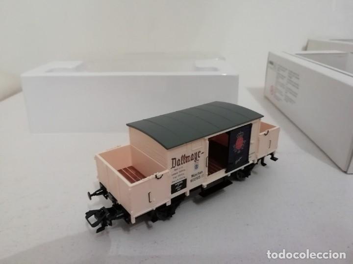 Trenes Escala: Marklin H0 46074 INSIDER Vagón Dallmayr Kaffee año 2002 NUEVO OVP - Foto 4 - 175087194