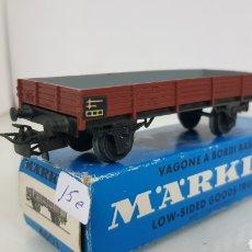 Trenes Escala: MARKLIN ESCALA H0 4503 ALTERNA VAGON DE MERCANCÍAS DE LA DB 10 CM. Lote 175422599