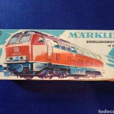 Trenes Escala: LOCOMOTORA MARKLIN V160. REF. 3075. FUNCIONA. Lote 175968428