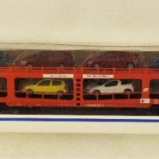 Trenes Escala: MARKLIN 42342 AUTO EXPRESO CON CARGA (HERPA). Lote 175973160