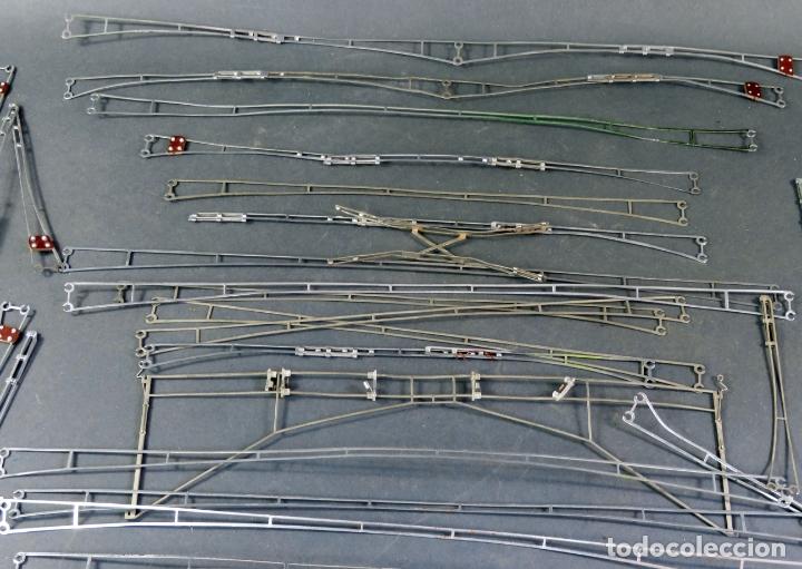 Trenes Escala: Lote catenarias Marklin H0 varios tamaños años 70 - 80 - Foto 2 - 176265668