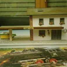 Trenes Escala: MARKLIN. EDIFICIO DE ESTACIÓN DE TREN.. Lote 178602301