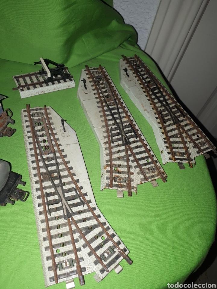 Trenes Escala: Lote MARKLIN vías locomotora y vagones leer descripción - Foto 2 - 179099811