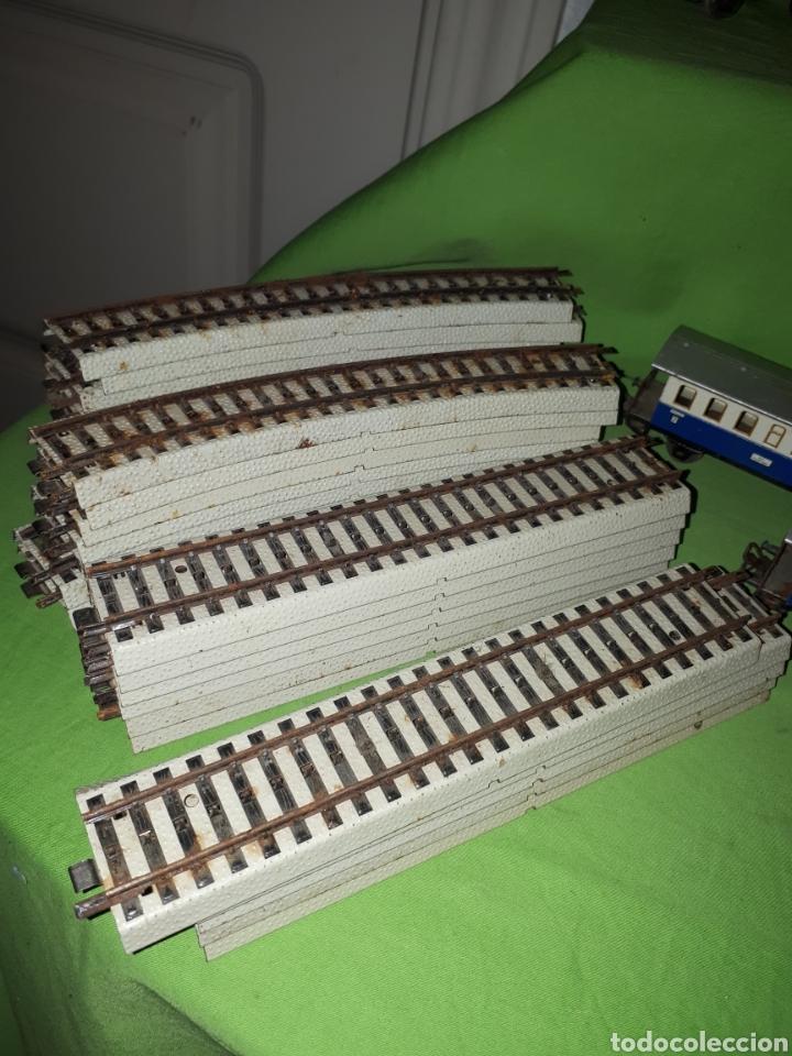 Trenes Escala: Lote MARKLIN vías locomotora y vagones leer descripción - Foto 4 - 179099811