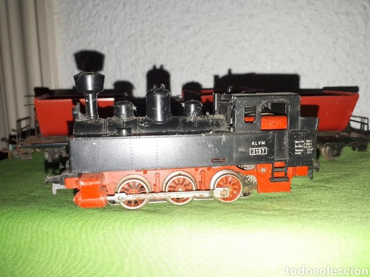 Trenes Escala: Lote MARKLIN vías locomotora y vagones leer descripción - Foto 6 - 179099811