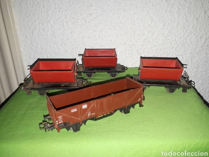 Trenes Escala: Lote MARKLIN vías locomotora y vagones leer descripción - Foto 7 - 179099811