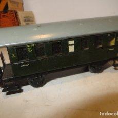 Trenes Escala: MARKLIN VAGON TODO DE CHAPA EN MUY BUEN ESTADO,SIN FALTAS,BARATO. Lote 179111312