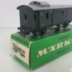 Trenes Escala: MARKLIN 4003 ESCALA H0 CORRIENTE ALTERNA WAGON MERCANCÍAS CON 2 PUERTAS CORREDERAS DE 14 CM. Lote 179170491