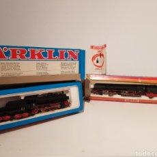 Trenes Escala: MARKLIN LOCOMOTORA 3098 Y 3102 H0 EN CAJA ORIGINAL. GRAN ESTADO.. Lote 180038000