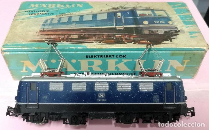 LOCOMOTORA ELÉCTRICA E41 024 DB - MARKLIN 3034 - ESCALA HO (Juguetes - Trenes a Escala - Marklin H0)