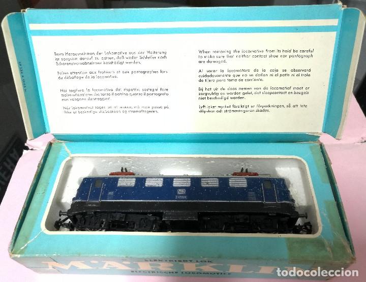 Trenes Escala: LOCOMOTORA ELÉCTRICA E41 024 DB - MARKLIN 3034 - ESCALA HO - Foto 3 - 180865340