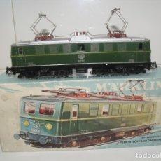 Trenes Escala: LOCOMOTORA MARKLIN H0, REF. 3036, CON CAJA ORIGINAL.. Lote 181404356