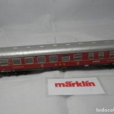 Trenes Escala: VAGÓN RESTAURANTE DE LA DSG ESCALA HO DE MARKLIN METALICO . Lote 182841556
