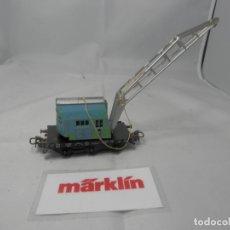 Trenes Escala: GRUA ESCALA HO DE MARKLIN . Lote 182884930