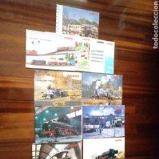 Trenes Escala: LOTE 7 CATÁLOGOS MARKLIN Y REVISTAS. Lote 182960290