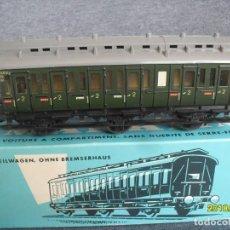 Trenes Escala: VAGON 3 EJES MARKLIN DB. Lote 183399588