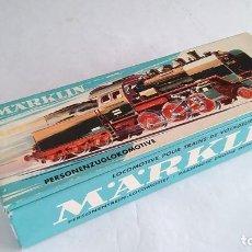 Trenes Escala: MARKLIN H0 LOCOMOTORA VAPOR CON TENDER, REF 3003, COMO NUEVA, EN CAJA. ALTERNA. Lote 183528671