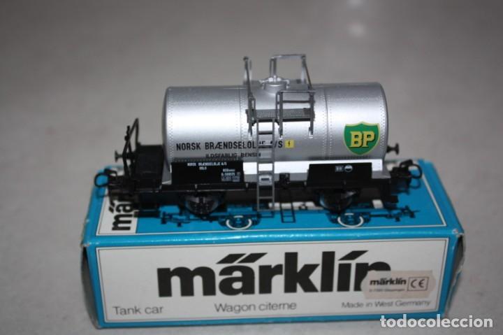 ANTIGUO A ESTRENAR VAGÓN DE MERCANCIAS MARKLIN. (Juguetes - Trenes a Escala - Marklin H0)