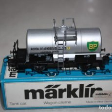 Trenes Escala: ANTIGUO A ESTRENAR VAGÓN DE MERCANCIAS MARKLIN.. Lote 183699736